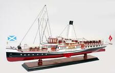 "Hohentwiel Paddle Steam Boat Model 29"" Handcrafted Wooden Ship Model NEW"
