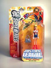 SUPERGIRL Action Figure JUSTICE LEAGUE UNLIMITED 2005 Mattel MOC SEALED