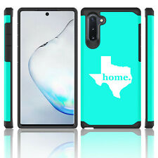 For Samsung Galaxy Note 10 + Shockproof Hard Case Cover Texas Home