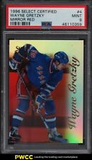 1996 Select Certified Mirror Red Wayne Gretzky /90 #4 PSA 9 MINT