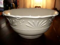 "10"" Large Salad Serving Bowl Isabella YELLOW  JCPENNEY LKNU"