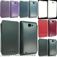 For Samsung Galaxy Note 1 i9220 Battery Back Leather Case Wallet Cover GT-N7000