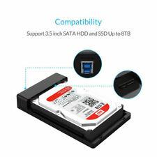 ORICO 3588US3-BK-PRO 3.5-inch USB3.0 Hard Drive Enclosure USB3.0 + SATA K9W2