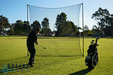 Golf Impact Practice Net: 3m x 3m with Support Posts