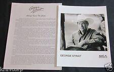 GEORGE STRAIT 'ALWAYS NEVER THE SAME' 1999 PRESS KIT--PHOTO