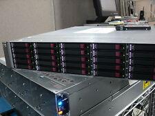 HP MSA70 SAS Drive Array 418800-B21 w 10 146GB Drives 432320-001 10K SAS