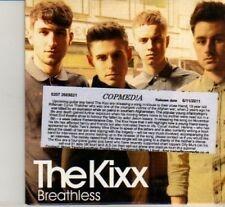 (DI945) The Kixx, Breathless - 2011 DJ CD
