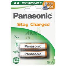 2 x Akku PANASONIC AA für Babyphone Philips Avent SCD525 / SCD 525 / Babyeinheit