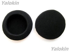 """2X 60mm / 2.35"""" Inch Foam Replacement Ear Cushions Earpads Covers for Headphones"""