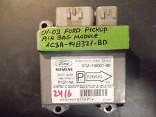 01 02 FORD PICKUP AIR BAG MODULE #1C3A-14B321-BD