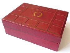 Ancien écrin boite pour montre OMEGA Genève Suisse Swiss vers 1950