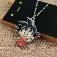 Anime Dragon Ball Z Son Goku Metal Pendant Necklace Cartoon Cosplay Chain Cute