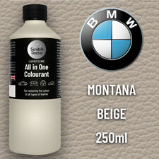 BMW MONTANA BEIGE ALL IN ONE Leather Dye Car Interior Repair Restore Paint