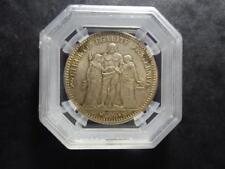 Hercule - 5 francs - 1874 A - Paris - GENI MS63