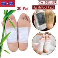 Foot Pads Natural Cleansing Sleeping & Anti-Stress Relief Detox Foot Patch 30PCS