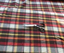 CLEARANCE:  Check / Tartan Style Brushed Cotton Fabric new Pattern