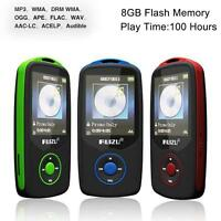 64G Support RUIZU X06 Bluetooth Sport MP3 Player TF Card Music Media 1.8 TFT WE