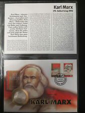 Numisbrief, Russland, 1 Rubel, 1983, Karl Marx