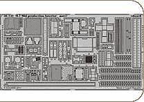 Eduard 1/35 M7 Mid Production Intérieur # 36142