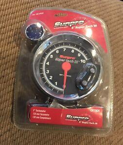 """Sunpro 5"""" Super Tach III Tachometer CP7905 NEW IN PACKAGE"""