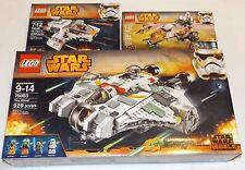 LEGO Star Wars The GHOST & PHANTOM &EZRA's SPEEDER BIKE Rebels 75053 75048 75090