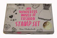 My Wonderful World of Fashion Stamp Set   by Nina Chakrabarti