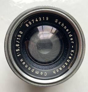 150mm f5.6 Enlarger lens Schneider-Kreuznach Componon for 5x4/4x5 negatives