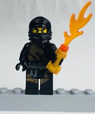 LEGO Ninjago COLE DX DRAGON SUIT  Collectible Minifigure Black Ninja FREE SHIP