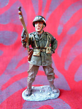 King & Country - Bastogne - BBA 024 - Real US MP - Bataille des Ardennes (WW2)