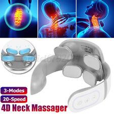 Electric Cervical Neck Massager Body Shoulder Relax Massage Relieve Pain  !