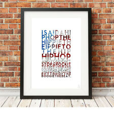THE SUGARHILL GANG ❤ Rapper's Delight ❤ poster art limited edition prints #5