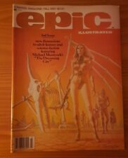 Epic Illustrated No.3 - Fall 1980 - Marvel VG+/FN 1st APP DREADSTAR