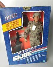 """Vintage Hall of Fame 'DUKE' GI Joe 12"""" Poseable Figurine Special Numbered Ed '91"""