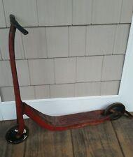 Vintage Classic Radio Red Flyer line kids Kick scooter original needs handle