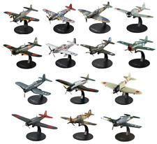 Lot de 14 Avions WW2 Guerre du Pacifique 1/72 militaire DeAgostini LG15