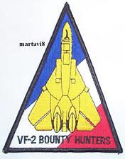 US.Navy F-14 Tomcat `VF-2 BOUNTY HUNTERS` Cloth Badge / Patch (F14-32)