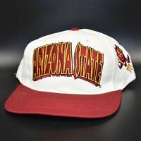 Arizona State Sun Devils Twins Enterprise Vintage 90's Snapback Cap Hat - NWT