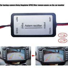 Auto Rückfahrkamera Leistungsrelais Kondensator Filter Gleichrichter 12V DC DE