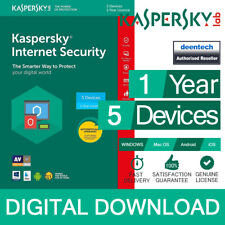 Kaspersky Internet Security 2019 (5PCs) Antivirus Multi-Device Genuine License