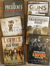 6 DVD, 11-disc American History Documentary collection, rare combo, epic $saver!