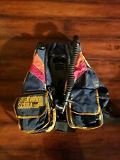 Sherwood Scuba Diving Snorkeling Inflatable Vest Sea Jacket  CYCLONE PLUS LARGE