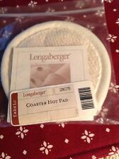 Longaberger Coaster Basket Hot Pad-NEW