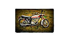 1969 cb100 Bike Motorcycle A4 Photo Poster