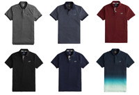 HOLLISTER Men's Short Sleeve Stretch Polo Shirt T-Shirt Free Shipping