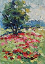 Original Art Oprina-Felicia Dolea - Oil Painting 5x7 in_# 614