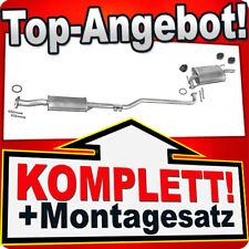 Auspuff TOYOTA COROLLA (E10) 1.3 XLI 88PS Liftback Stufenheck Kombi N12