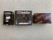 Nishika n8000 35mm 3-d camera w. Nishika Twin Light 3000 & Nishika Case Full Set