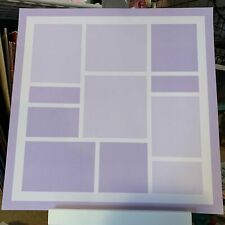 Close to My Heart Purple Base 12x12 pages --Online Garage