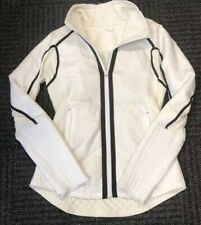 Lululemon Run Bundle Up Jacket Reflective White/Polar Cream - Size 6