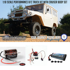 RC4WD Z-K0051 Truck Gelande II Kit w/Cruiser Body Kit, ESC, Motor & Battery